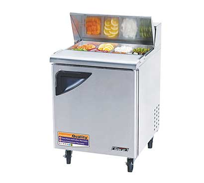 Turbo Air 28 Inch Super Deluxe Sandwich-Salad Unit - TST-28SD-N