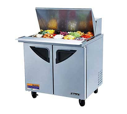 Turbo Air Turbo Air Deluxe Sandwich-Salad Unit 11 cu. ft. - TST-36SD-15
