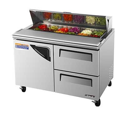 Turbo Air TurboAir Super Deluxe Sandwich/Salad Unit 12 cu. ft. - TST-48SD-D2