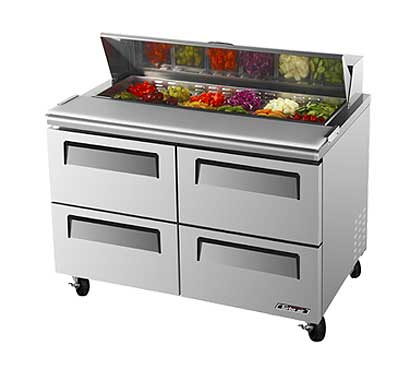 Turbo Air TurboAir Super Deluxe Sandwich/Salad Unit 12 cu. ft. - TST-48SD-D4
