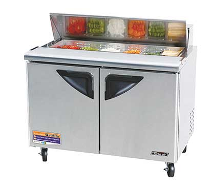 Turbo Air 48 Inch Super Deluxe Sandwich-Salad Unit