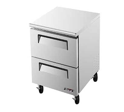 Turbo Air Super Deluxe Series Undercounter Freezer 7 cu. ft. - TUF-28SD-D2