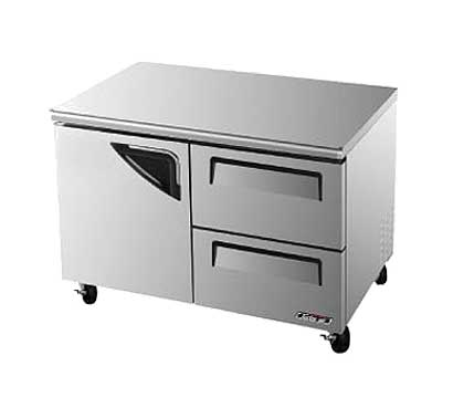 Turbo Air Super Deluxe Series Undercounter Freezer 12 cu. ft. - TUF-48SD-D2