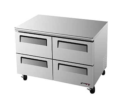 Turbo Air Super Deluxe Series Undercounter Freezer 12 cu. ft. - TUF-48SD-D4