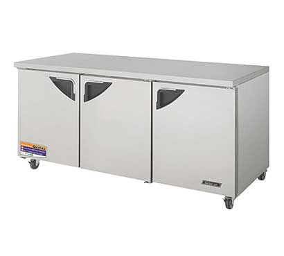 72 Inch Undercounter Refrigerator from Turbo Air - TUR-72SD-N