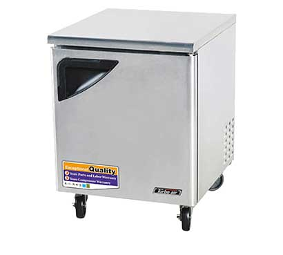 28 Inch Undercounter Refrigerator from Turbo Air - TUR-28SD-N