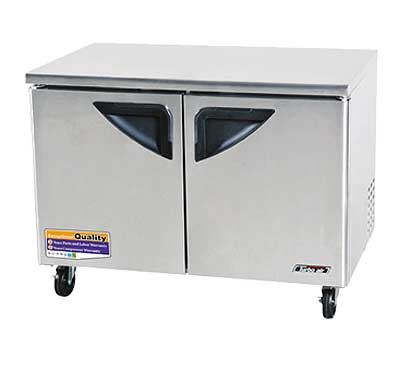 48 Inch Undercounter Refrigerator from Turbo Air - TUR-48SD-N