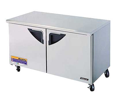 60 Inch Undercounter Refrigerator from Turbo Air - TUR-60SD-N
