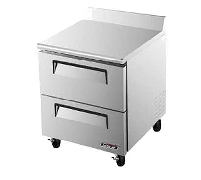 Turbo Air TurboAir Super Deluxe Worktop Freezer 7 cu. ft. - TWF-28SD-D2