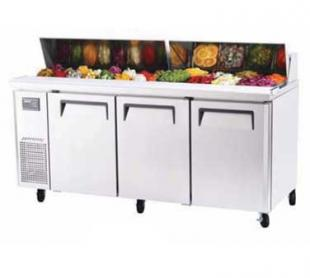 Turbo Air J Series Sandwich/Salad Unit-side mount 18 cu. ft. - JST-72