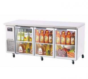 Turbo Air TurboAir J Series Glass Door Undercounter Refrigerator 19 cu.ft. - JUR-72-G