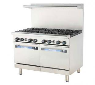 "Turbo Air Turbo Air Radiance Restaurant Range gas 48""W - TAR-8"