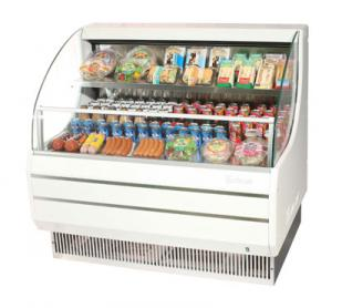 Turbo Air TurboAir Horizontal Open Display Merchandiser low-profile - TOM-40L