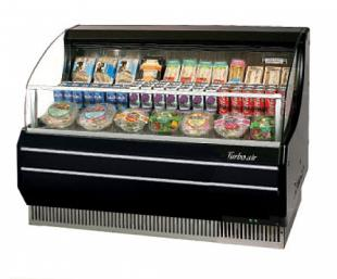Turbo Air TurboAir Horizontal Open Display Merchandiser slim-line - TOM-50SB