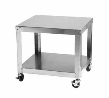 Univex Equipment Stand w/under shelf & locking casters - 150