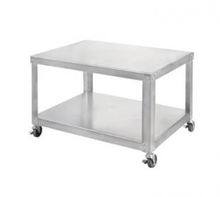 Univex Equipment Stand w/under shelf & locking casters - S-3B