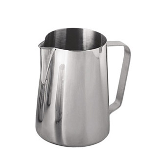 Stainless Steel Milk Frothing Cup, 12 Ounce - EP-12