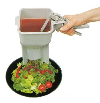 The Sauce Boss Portion Control Dispenser from Vollrath