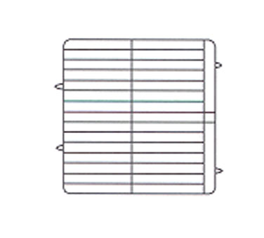 "Vollrath Plate Crate Dishwasher Rack 7-5/8"" x 8"" dia. - PM3208-4"