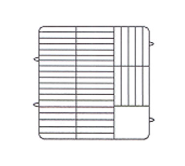 "Vollrath Plate Crate Dishwasher Rack 5"" x 6"" dia. - PM4806-2"