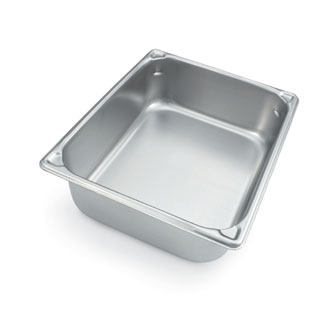 "Vollrath Super Pan V Two-Third Size Food Pan 1-1/4"" deep - 30112"