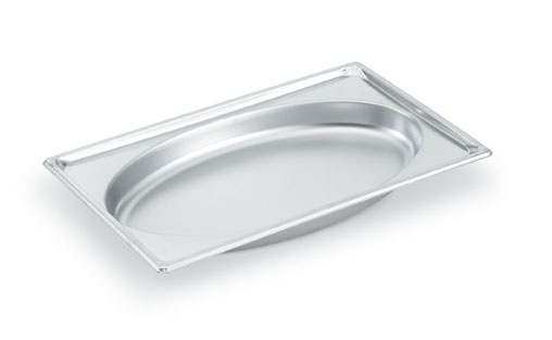 Vollrath Super Pan Super Shape Full Oval Pan 4.8 qt. - 3101020