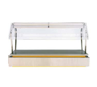 "Vollrath NSF2 (2011) Classic Economy Breath Guard for 60"" Signature Server Classic base units includes acrylic end panels - N36302"