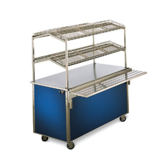 "Vollrath Signature Server Classic Speed-Serve Merchandiser 46"" TWO-SHELF - 36392"