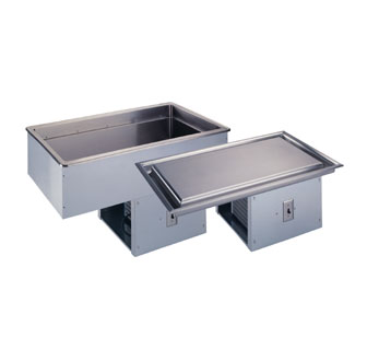 Vollrath 3-PAN FROST TOP MODULAR DROP-IN 18-8 s/s - 36420