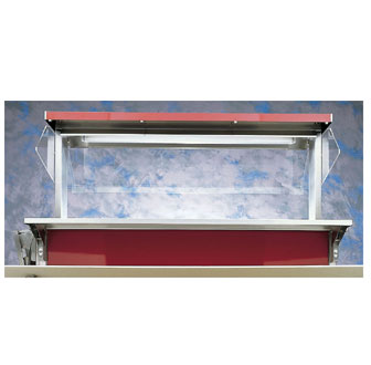 """Vollrath Fluorescent lights - 46"""" for Signature Server Classic units bulbs and lamps not included - 36421"""
