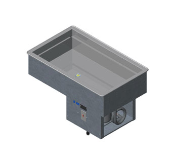 Vollrath Pan-Nsf-Remote-Refrigerated-Cold-Pan-Drop-In-Stainless-Steel Product Image 791