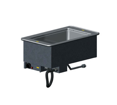 "Vollrath 1-WELL HOT MODULAR DROP-IN with INFINITE CONTROL & STD DRAIN holds 12"" x 20""/equiv fractional pans up to 6"" deep - 36471"