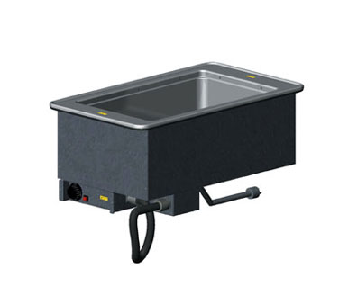 "Vollrath 1-WELL HOT MODULAR DROP-IN with THERMOSTATIC CONTROL & STD DRAIN holds 12"" x 20""/equiv fractional pans up to 6"" deep - 3647110"