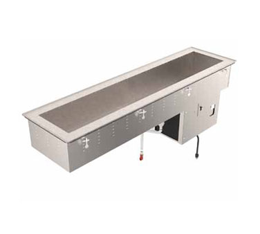 Vollrath 3-PAN REFRIGERATED SHORT SIDE DROP-IN 18-8 stainless steel - 36655