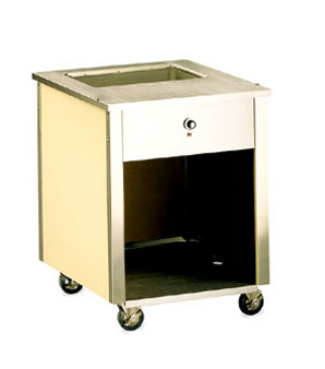 "Vollrath Signature Server Classic 34"" high ADA Entree Cart 28"" long - 37080"