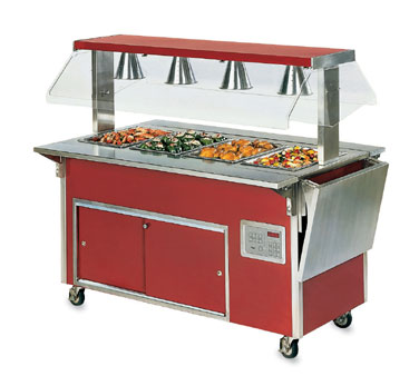 "Vollrath Right Side Plate Rest - ADA Signature Server Classic - 28"" (right side when viewed from operator side) 7"" Overall Width - 37511-2-R"