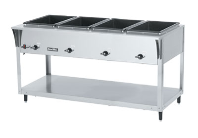 Vollrath ServeWell SL Hot Food Table with 4 Wells
