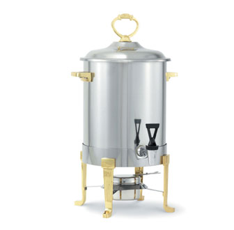 Vollrath Classic Brass-Trim Coffee Urn 3 gallon (11.4L) - 46029