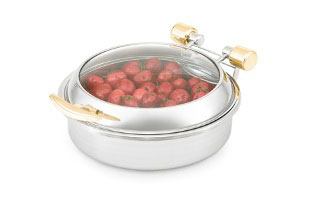 Vollrath Intrigue Glass Top Induction Chafer large - 46124