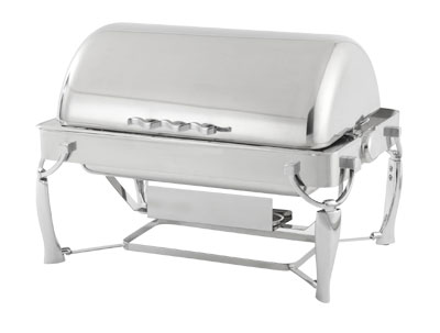 Vollrath Somerville 9 qt Fully Retractable Rectangle Chafer - 4634010