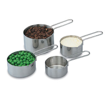 Vollrath Measuring Cup Set 4 piece - 47119