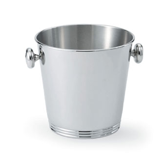 Vollrath SILVERPLATED Wine Bucket with Side Knob Handles Single bottle bucket - 48320