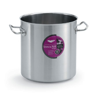 Vollrath Intrigue Stock Pot 27 qt.(25.5L) - 47723