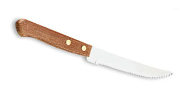 Vollrath Steak knife hollow ground blade with wave serration - 48140