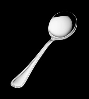 Vollrath Flatware bouillon spoon - round bowl - 48225