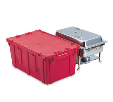Vollrath Tote N Store Chafer Box RED - 52645