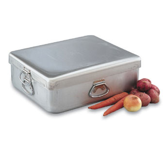 Vollrath Premiere Roasting Pan with Cover, 56 Quarts - 68390