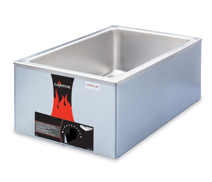 Vollrath Cayenne Food Warmer Full Size Countertop - Model 2000 WARMER - 72000
