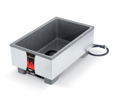 Vollrath Cayenne Heat'N Serve Ultra Full Size Countertop Merchandiser brushed s/s - 72023