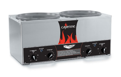 Cayenne Twin Qtwell Countertop Cooker Warmer Accessory Kit Product Photo